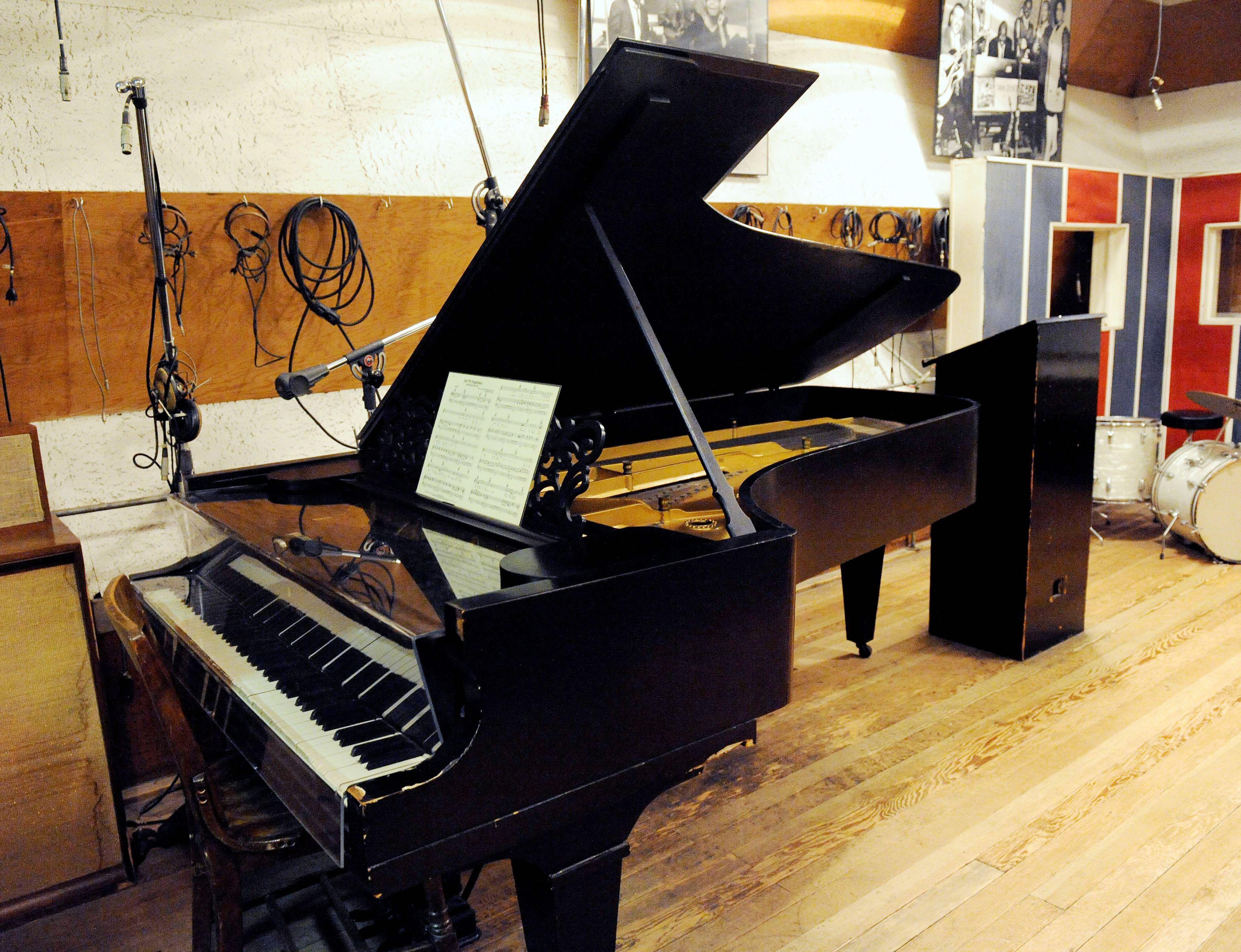 1877 Steinway grand piano